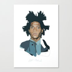 Jean-Michel Basquiat - Artist Series Canvas Print
