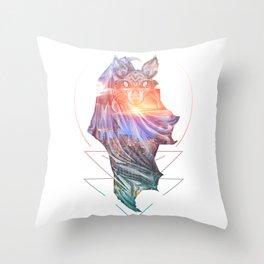Spirit of the Bat Throw Pillow