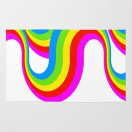 Double Rainbow Rug