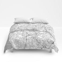 Porto Map Line Comforters