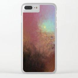 Pompeii 2(Mount Vesuvius) Clear iPhone Case