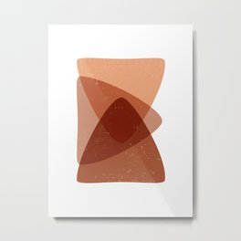 Superimpose - Contemporary, Minimal Abstract Metal Print