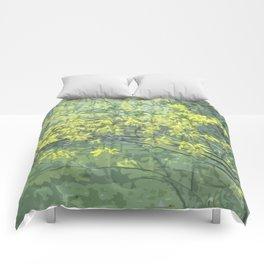Spring Landscape Comforters
