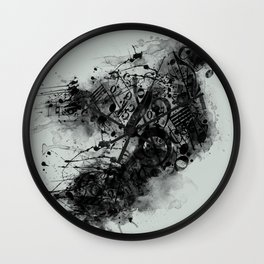 THE LONELY BIRD SONG Wall Clock