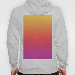 Ombre Colorful Summer Gradient Pattern Hoody
