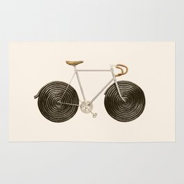Licorice Bike Rug