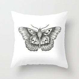 Harry Styles butterfly Throw Pillow