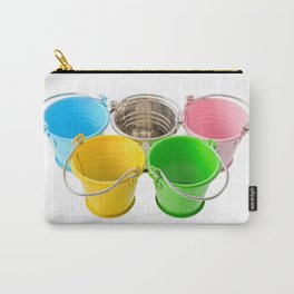 Colorful buckets Carry-All Pouch