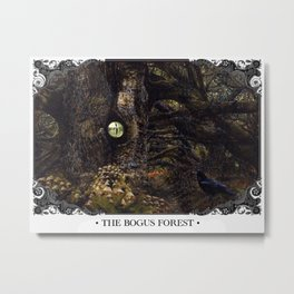 The Bogus Forest Metal Print
