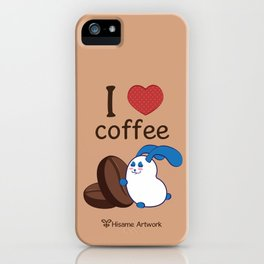 Ernest | Love coffe iPhone Case