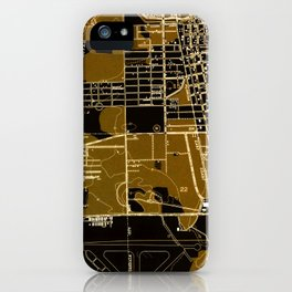 Fort Lauderdale old map year 1949, united states old maps iPhone Case