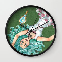 Neptune's Reach Wall Clock