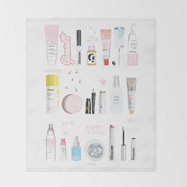 The Glossier Top Shelf Throw Blanket
