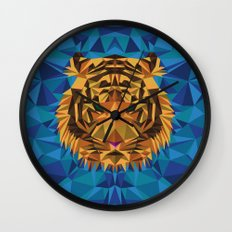 Liger Abstract - Its a Lion Tiger Hybrid Wall Clock