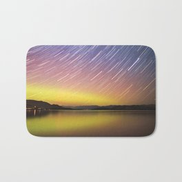 Aurora at Flat Head Lake Bath Mat