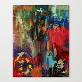 Wrath Hybrid Canvas Print
