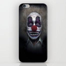 Killer Clown iPhone Skin