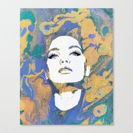 She. World Unknown. Canvas Print