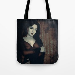 Morticia Uncensored Tote Bag