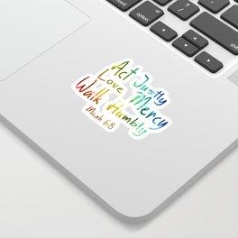 bible art Sticker