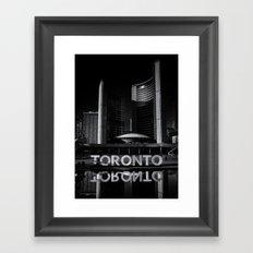 Toronto City Hall No 1 Framed Art Print