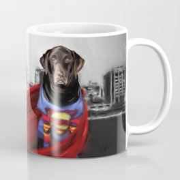 Dog of Steel in the City of Madison Coffee Mug