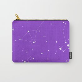 Ultra Violet Night Sky Carry-All Pouch