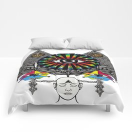 MY THIRD EYE Comforters