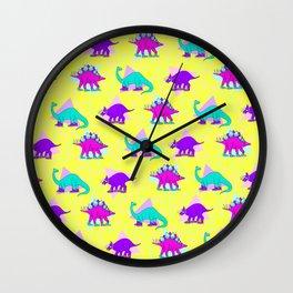 DINO KICKS Wall Clock