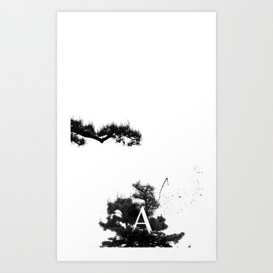 hisomu A. Art Print