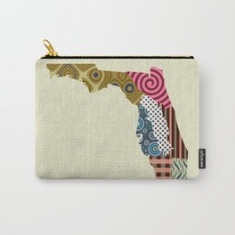 Florida State Map Carry-All Pouch
