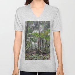 The Sierra Palm cloud forest - El Yunque rainforest PR Unisex V-Neck
