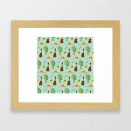 Mexican style Framed Art Print