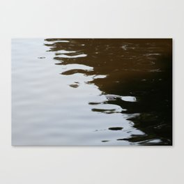 Dark and Clear Water Canvas Print