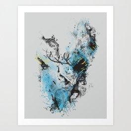 Chaos Thinking Art Print