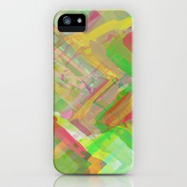 Brush Strokes - Abstract  iPhone Case