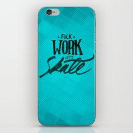 Let's Skate iPhone Skin