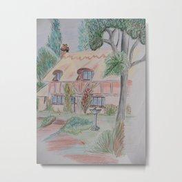 Little Cottage  Metal Print