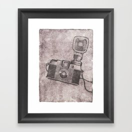 Diana F+ Framed Art Print