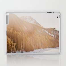 Sun Shining through the Mountains Laptop & iPad Skin