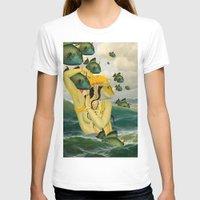 mermaid T-shirts featuring MERMAID by Julia Lillard Art