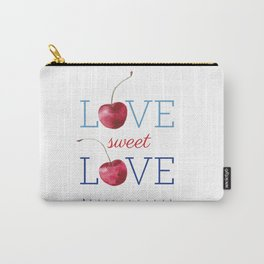 Love Sweet Love Carry-All Pouch