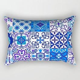 Moroccan Tile islamic pattern Rectangular Pillow