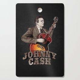 Johnny Cash Cutting Board