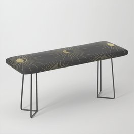 Moon and Sun Theme Bench