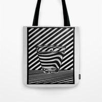 tequila Tote Bags featuring Trippin' Tequila by Ana Lillith Bar