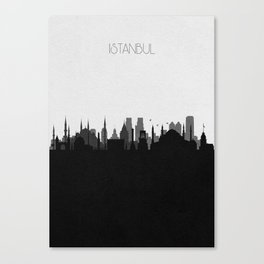 City Skylines: Istanbul Canvas Print