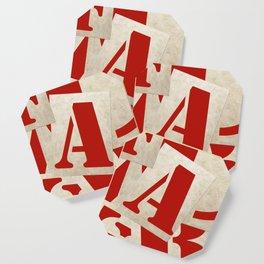 Edit Voros Typography Art Nr. 1001 Coaster