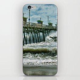 Surge Under The Pier iPhone Skin