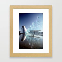 MOG Reflecting Pool Framed Art Print